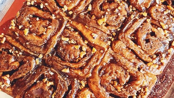 Sticky buns at Kismet