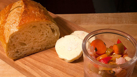 Bread and giardiniera at Union