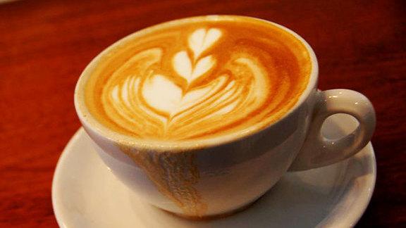 Macchiato at Bodhi Coffee