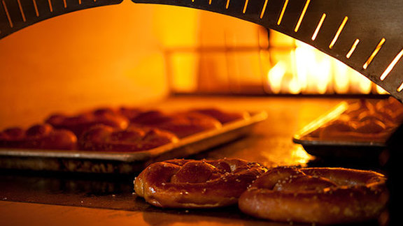Brick oven pretzels at Brave Horse Tavern