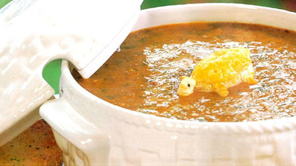 Chef Jamie Zelko reviews Turtle soup au sherry at