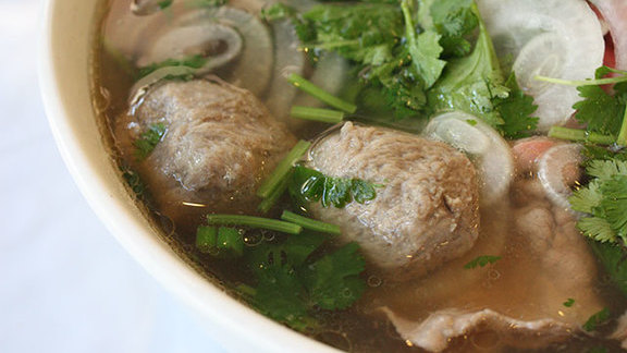 Combination beef phở at Pho Ha