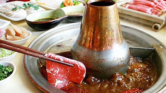 Nourish & spicy broth at Beijing Hot Pot