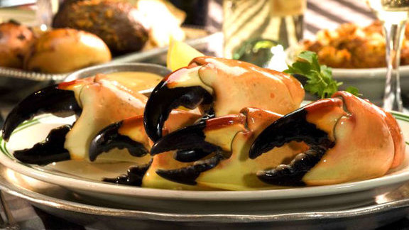 Stone crab at Joe's Stone Crab