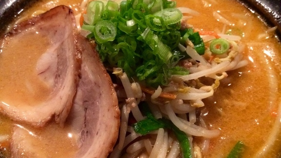 Red Miso Ramen at Isshin Ramen 一心