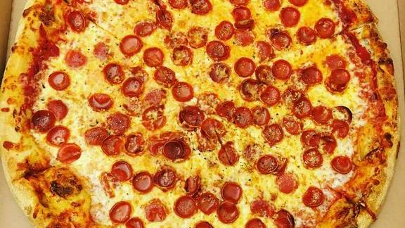 Pepperoni pizza at Tony's Pizza Napoletana