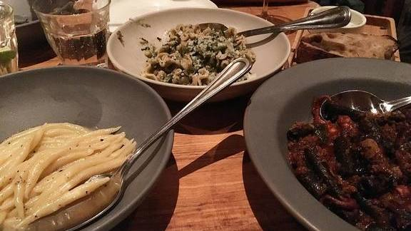 Pastas at Rolf & Daughters