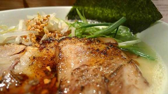 Chef Lee Cooper reviews BBQ pork ramen at