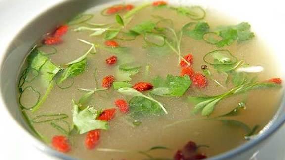 Yucatan hot & sour soup at Nota Bene