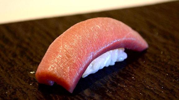 Nigiri tasting menu at Kabuto Edomae Sushi