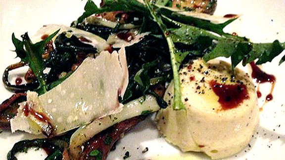 Chef Philip Speer reviews Porcini trifolati at Hearth