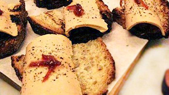 Fegato d'anatra at Il Buco Alimentari e Vineria
