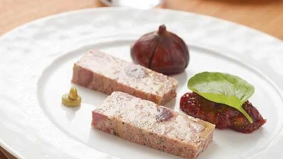 Terrine de foie gras at Café Boulud