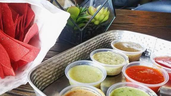 Chef Maria Mazon reviews chips and salsa x7!  at BOCA Tacos