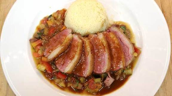 Duck magret at Artisanale - French Country Cooking