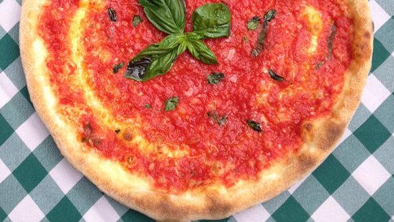 Marinara pizza at Terroni