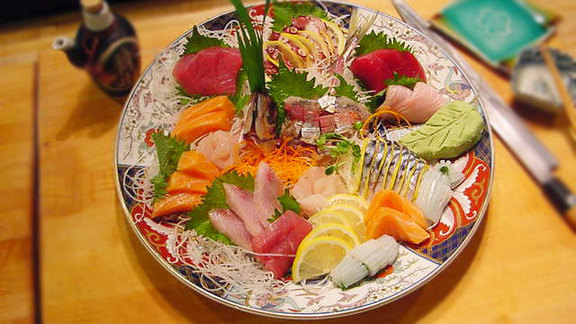 Sashimi regular at Zushi Puzzle