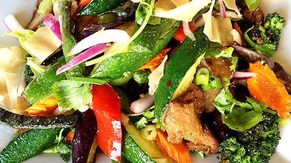 Yum veggie salad at Supannee House of Thai