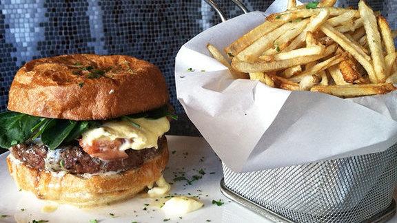 777 burger at Neighborhood