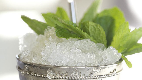 Mint Julep at Hard Water