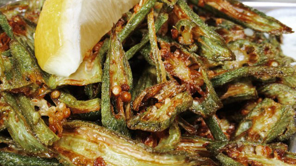 Chef Mark Gordon reviews Okra at