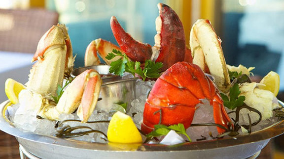 Chef Nyesha Arrington reviews Dungeness crab at
