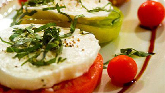 Chef Christopher Kostow reviews Hand made mozzarella caprese at Cook St. Helena