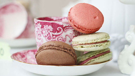Macarons at Chantal Guillon