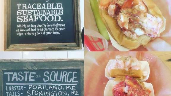 Lobster, Crab & Shrimp Rolls at Luke's Lobster