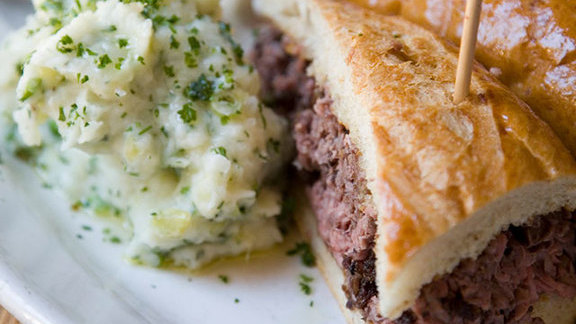 French dip at Town of Rutherford