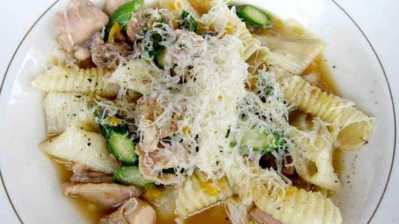 Pasta at Luce
