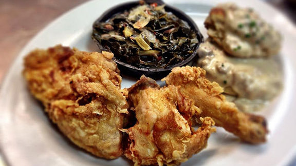 Chef Kelly McCown reviews Sunday Fried Chicken Dinner at