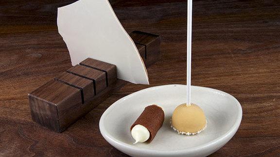 Dessert tasting menu at Michael Mina