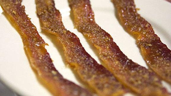 Praline bacon at Elizabeth's