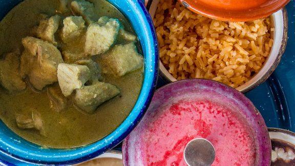 Chef Karla Espinosa reviews Mole Verde at