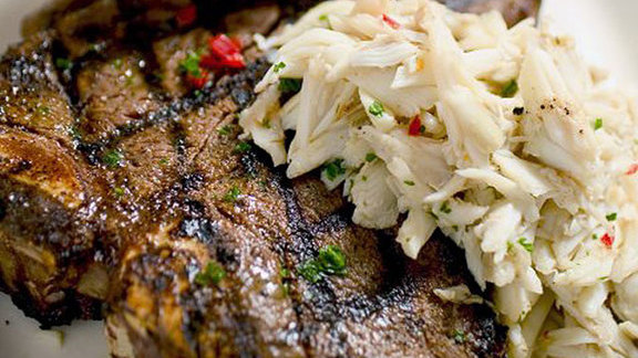 24 oz. prime porterhouse at Dickie Brennan's Steakhouse