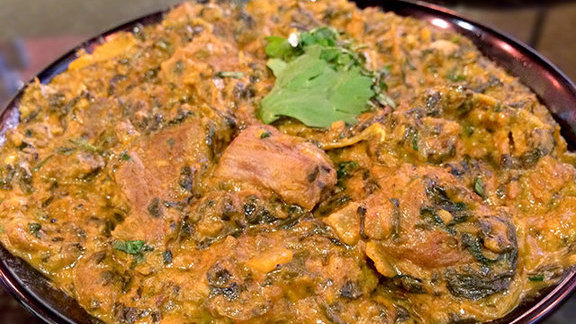 Chef Mat Clouser reviews Lamb saag at