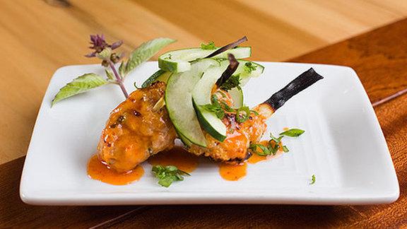 Chef David Slater reviews Thai shrimp & pork meatballs at Mondo