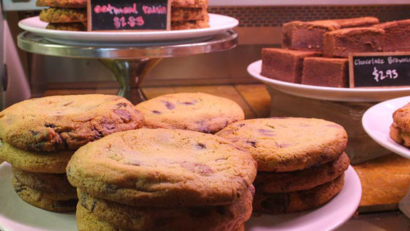 Chocolate chip cookie at Muss & Turners