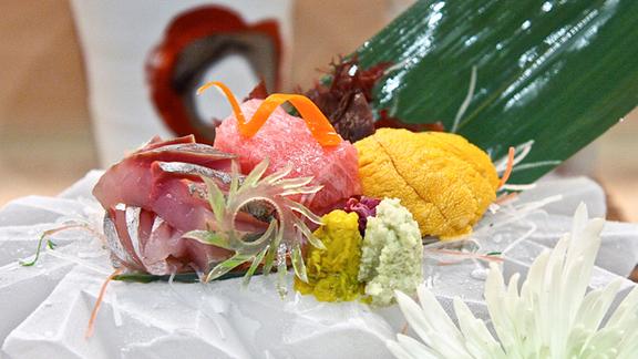 Chef Jazz Singsanong reviews Sashimi at