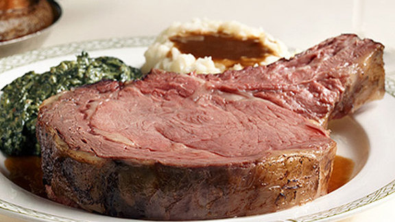 Diamond Jim Brady Cut at Lawry's The Prime Rib
