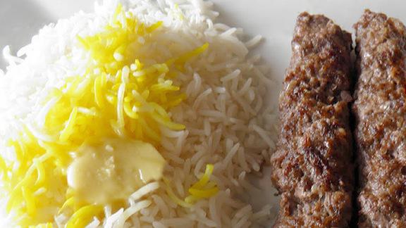 Chelo kebab koobideh at Colbeh Restaurant