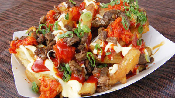 Gamja fries at Namu Street Stall
