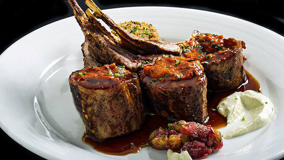 Colorado rack of lamb with Moroccan flavors at Top Of The World