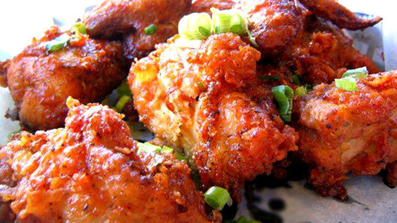 Crisp BBQ Korean fried chicken at Crisp