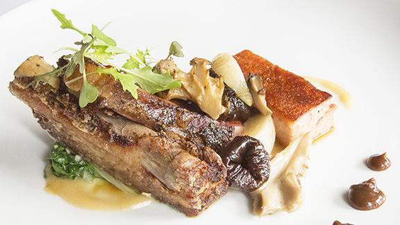 Chef Robert Sisca reviews Vermont Pork Three-Ways at Craigie on Main