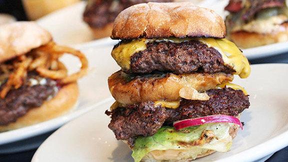 Chef Dana Cree reviews #7 The Big DMK at DMK Burger Bar
