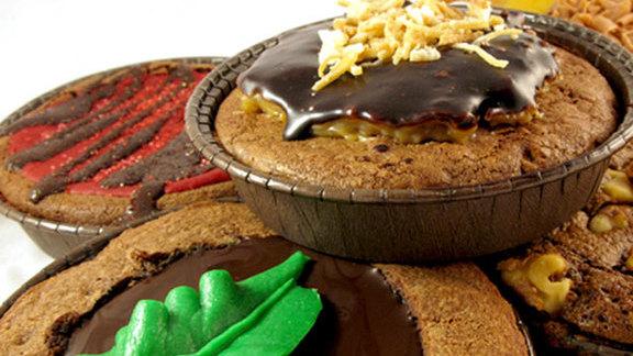 Brownies at Buzz Bakery