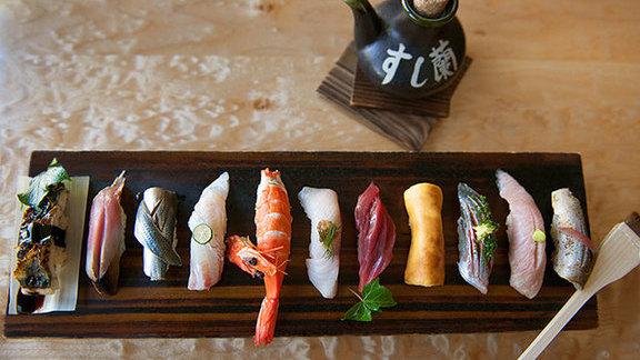 Omakase at Sushi Ran