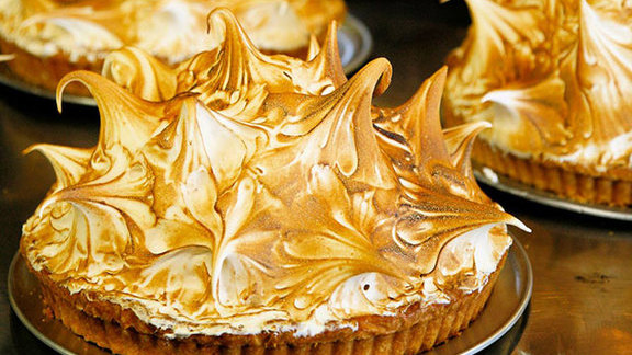Chef Stephen Barber reviews Our famous lemon-lime tart at
